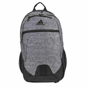 Adidas Foundation V Backpack-Jersey Grey/Black-NWT